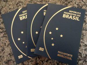 ブラジル領事館 パスポート