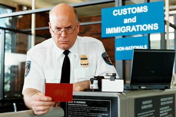 アメリカ入国審査