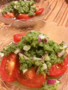 もう一品レシピ トマトnoきゅうり和え