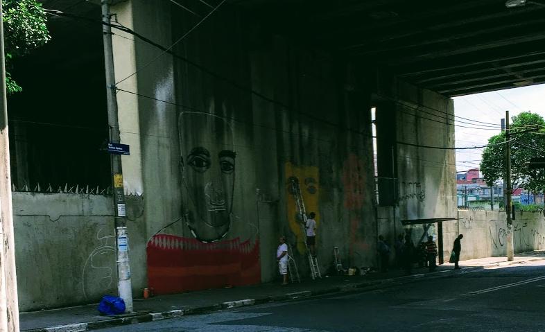 壁絵アート落書き