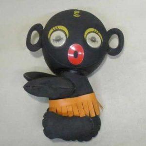 黒人メイク抱っこちゃん人形