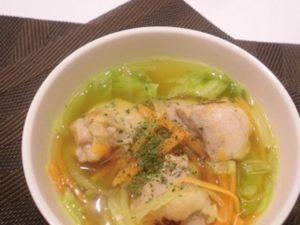 鶏ダイエットスープ